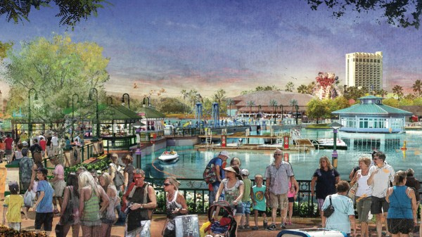 Disney Springs Concept Art - 1 Of 7