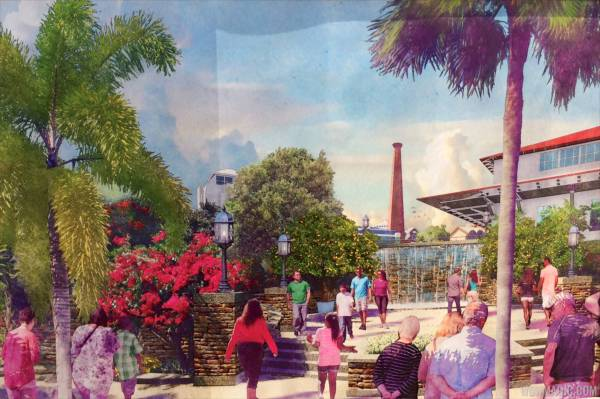 Disney Springs Concept Art Shows Of '