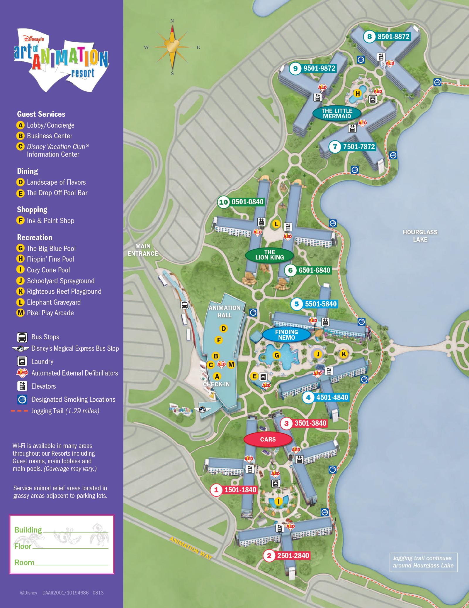 2013 Resort Hotel Maps - 18 Of 37