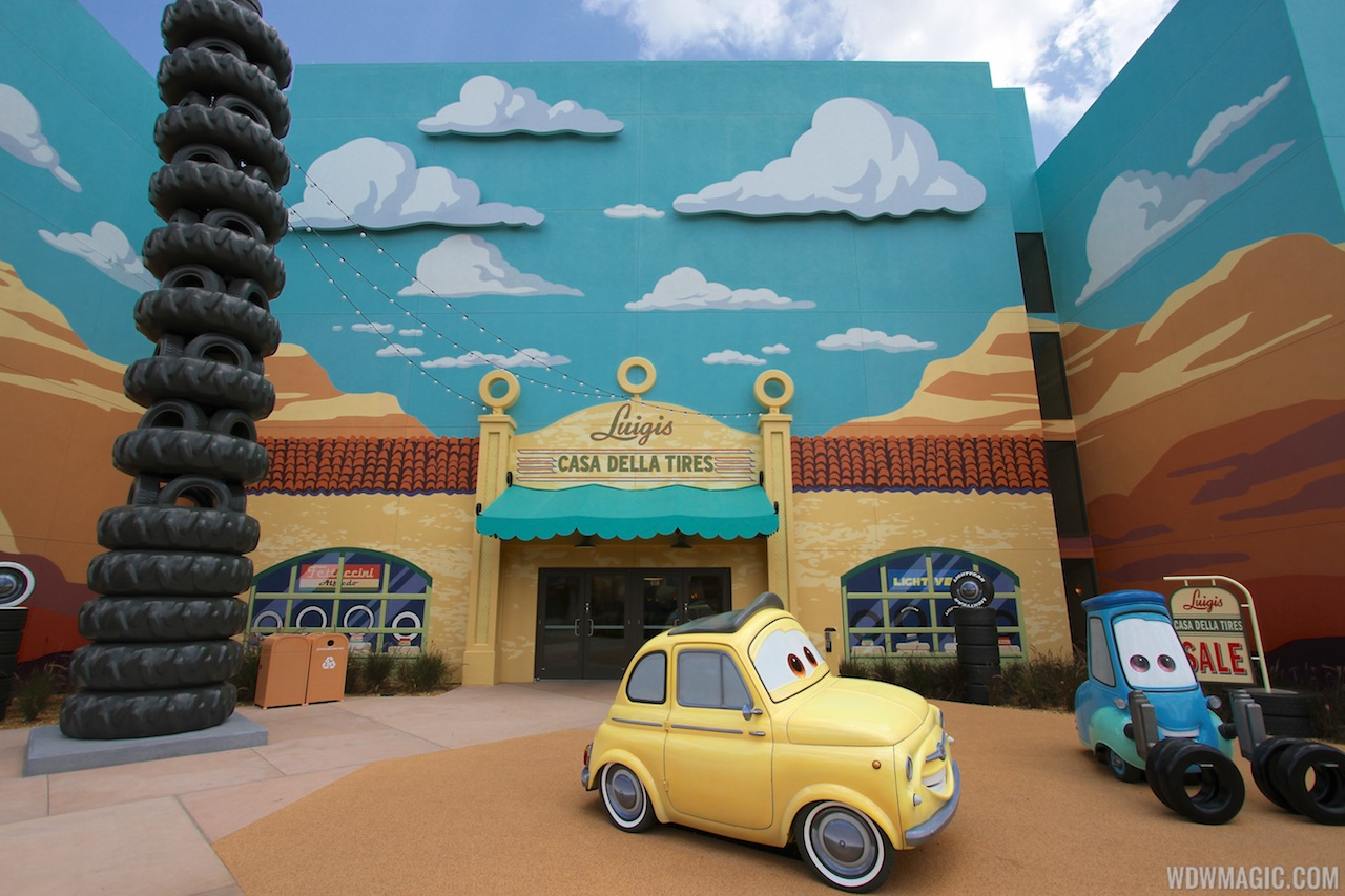 Disney' Art Of Animation - Cars Section 18 33
