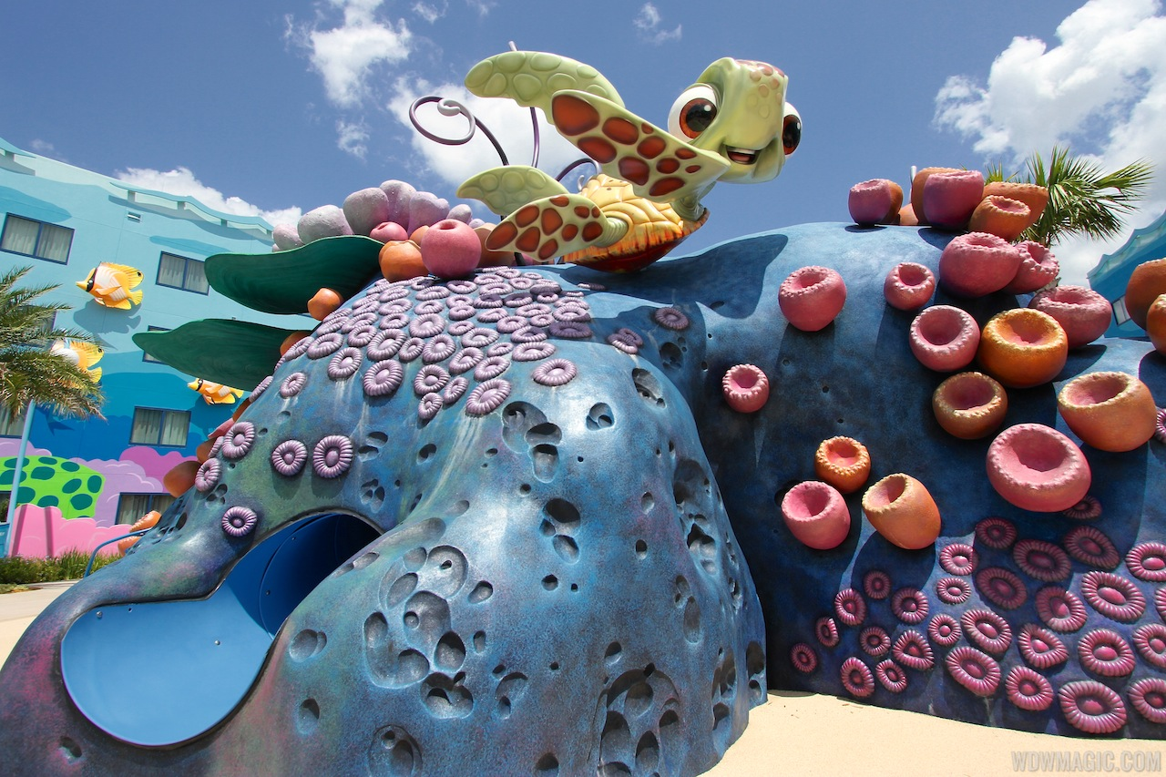 Disney Art Animation Resort Finding Nemo
