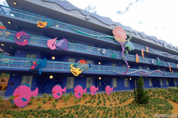 Art of Animation Resort Little Mermaid Disney