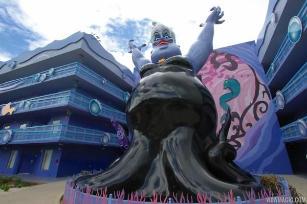 Disney' Art Of Animation - Little Mermaid Section