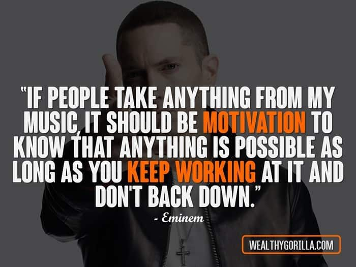 Hip Hop Quotes - Eminem Quotes