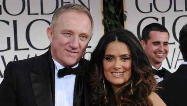 Francois-Henri Pinault & Salma Hayek Networth - Richest Celebrity Couples