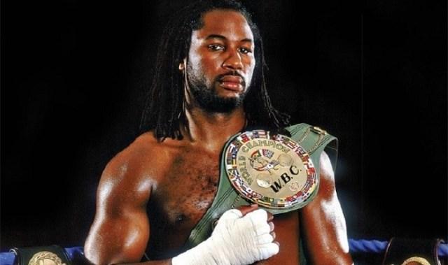 Richest Boxers - Lennox Lewis
