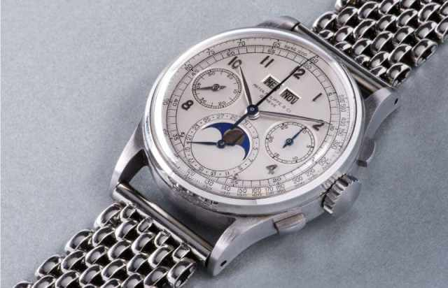 Most Expensive Watches - Patek Philippe Ref. 1518 in Stainless Steel