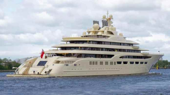 Most Expensive Yachts - Dilbar