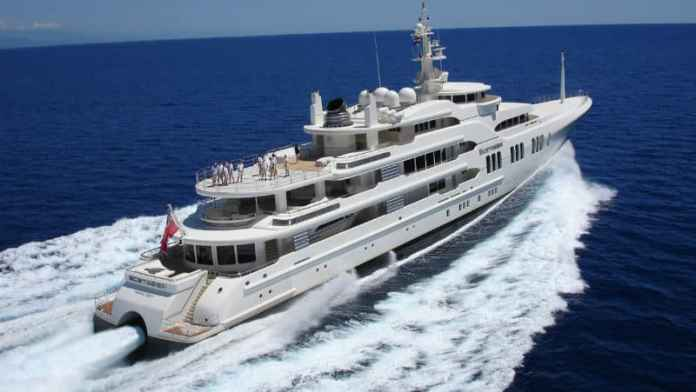 Most Expensive Yachts - Ectasea