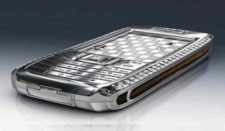 Most Expensive Phones - Diamond Crypto Smartphone