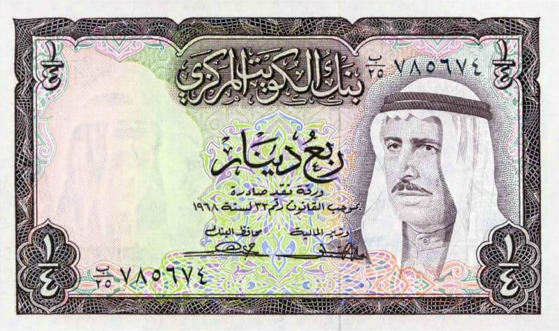 Moedas Mais Fortes - Dinar do Kuwait