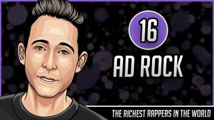 Richest Rappers in the World - Ad Rock