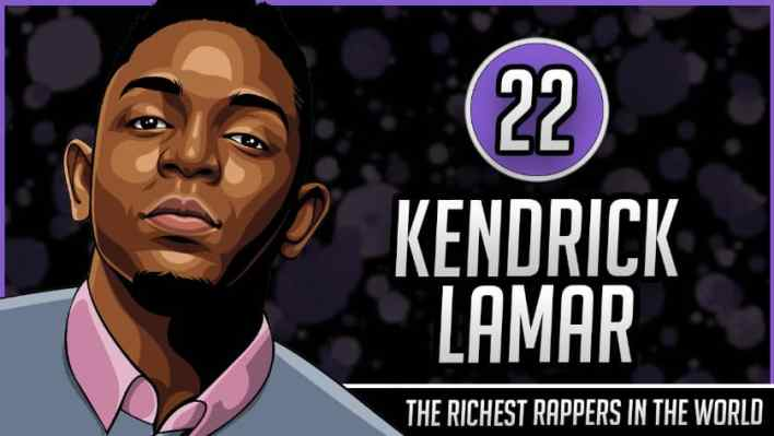 Richest Rappers in the World - Kendrick Lamar