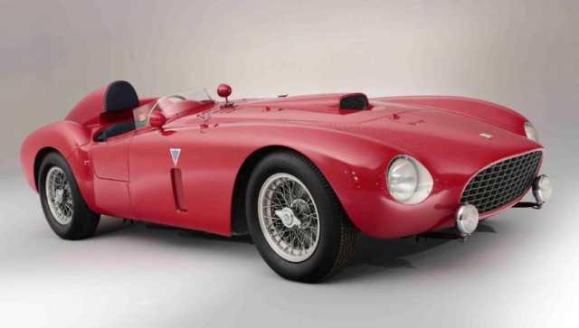 Most Expensive Ferraris - 1954 Ferrari 375-Plus Spider Competizione