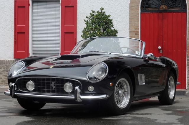 Most Expensive Ferraris - 1961 Ferrari 250 GT LWB California Spider Competizione