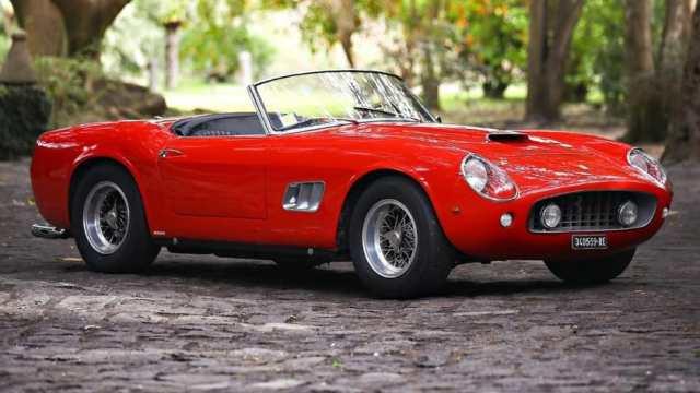 Most Expensive Ferraris - 1961 Ferrari 250 GT SWB California Spider