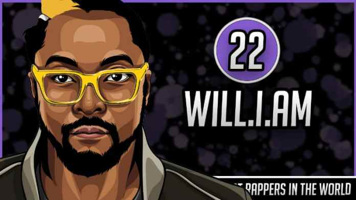 Richest Rappers in the World - Will I Am