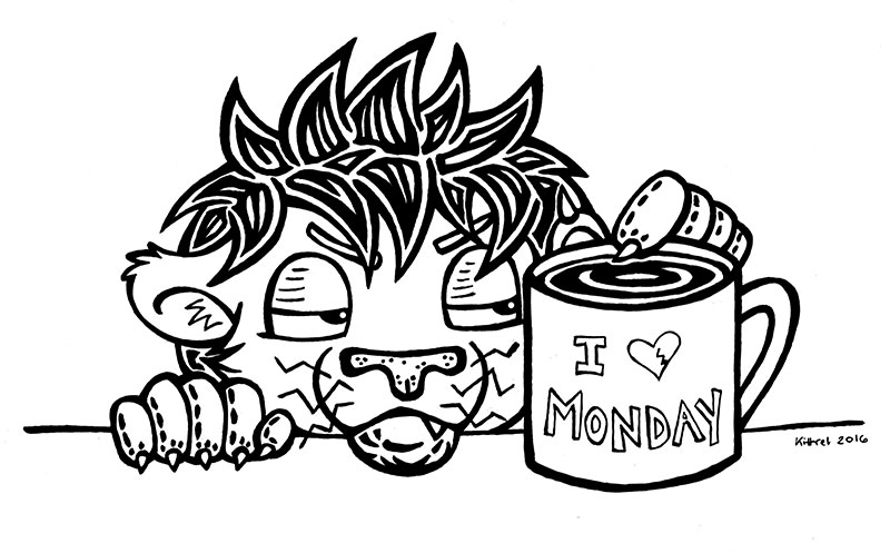 Monday Morning — Weasyl