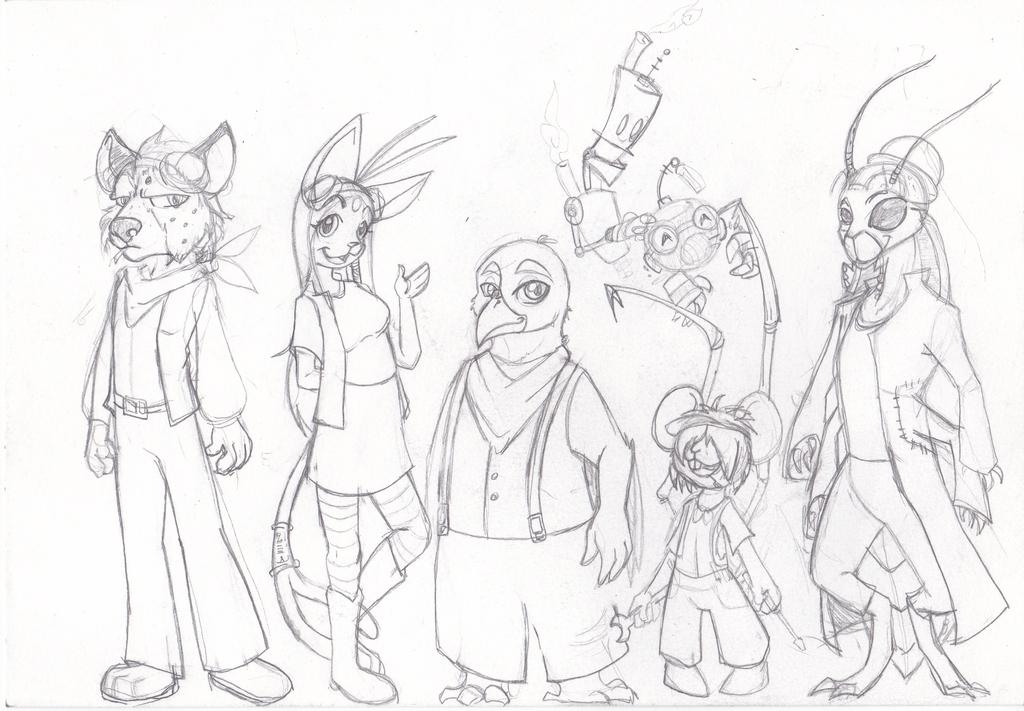 Character height sheet / Forum Art — Weasyl