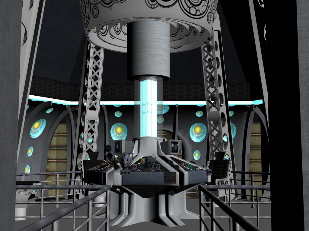 TARDIS Interior Mark 2  Weasyl