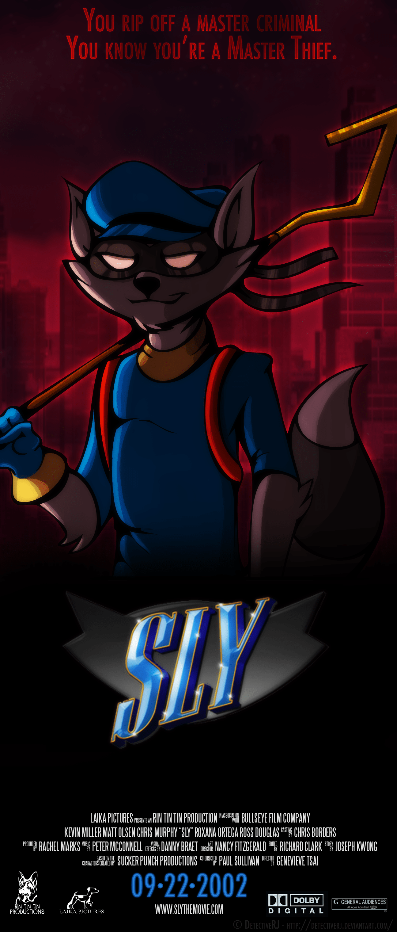sly cooper the movie
