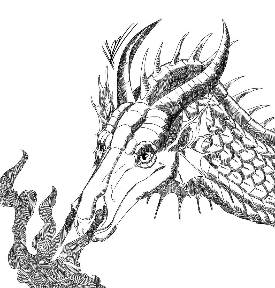 Inktober 30: European Dragon — Weasyl