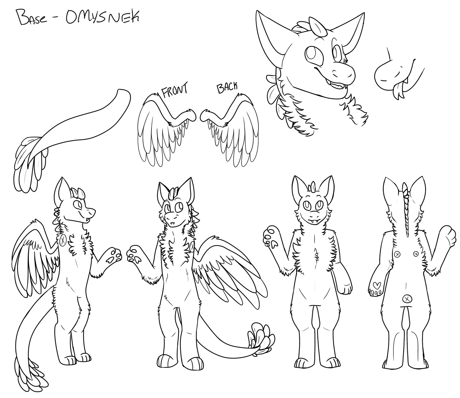 Dutch Angel Dragon (FREE BASE) — Weasyl