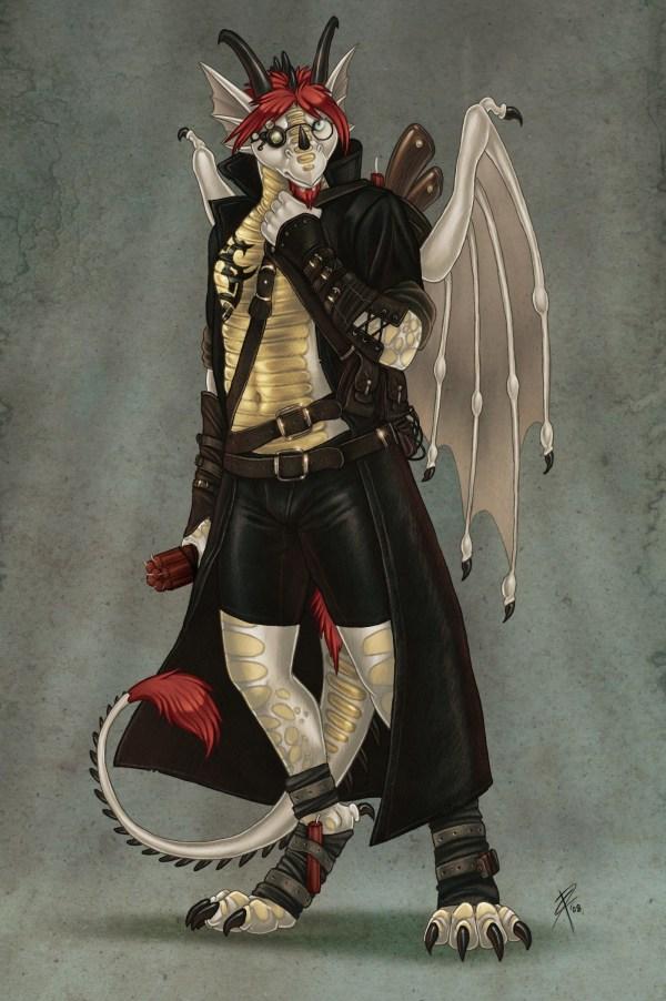 Steampunk Dragon Weasyl