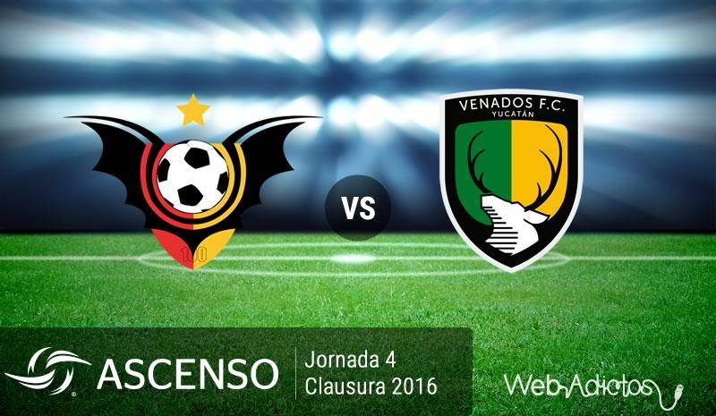 Murciélagos vs Venados, Jornada 4 del Ascenso MX Clausura 2016 - murcielagos-vs-venados-ascenso-mx-clausura-2016