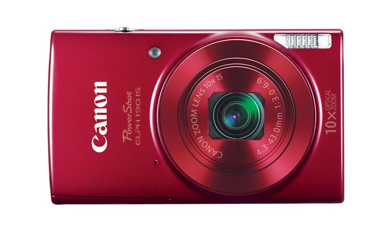 Canon rediseña su impresora portátil SELPHY CP1200 y presenta nuevas cámaras - camaras-canon-elph190is