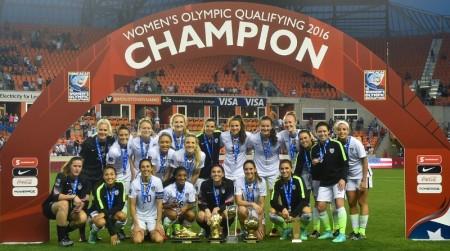 El Preolímpico de la CONCACAF y el futuro del Fútbol Femenil - campeonas-usa-450x251