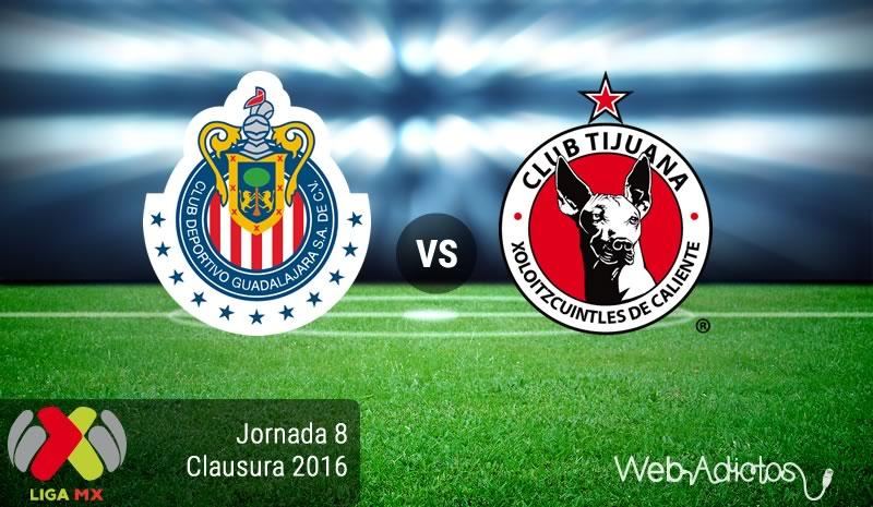 Chivas vs Tijuana, Jornada 8 del Clausura 2016 | Liga MX - chivas-vs-tijuana-jornada-8-del-clausura-2016