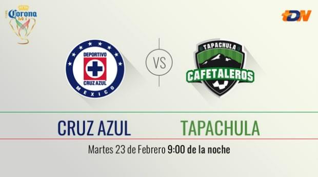 Cruz Azul vs Tapachula en la Copa MX Clausura 2016 - cruz-azul-vs-tapachula-por-televisa-deportes-copa-mx-c2016