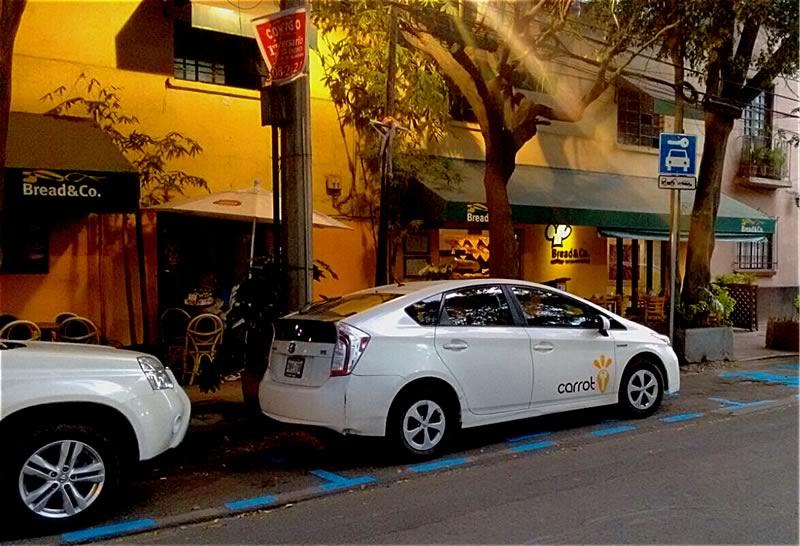 Carrot inaugura 18 estaciones de autos compartidos en la Ciudad de México - estaciones-carrot-ciudad-de-mexico