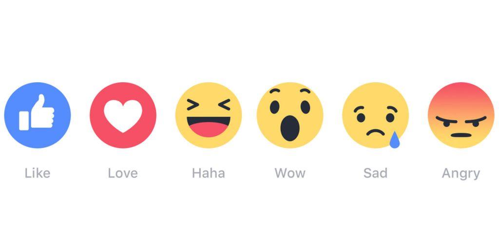 "Facebook habilita ""Reactions"" para todo el mundo - facebook-reactions"