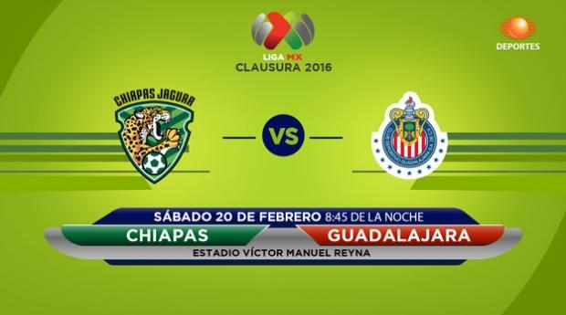Jaguares vs Chivas, Jornada 7 del Clausura 2016 en la Liga MX - jaguares-vs-chivas-por-televisa-deportes-clausura-2016