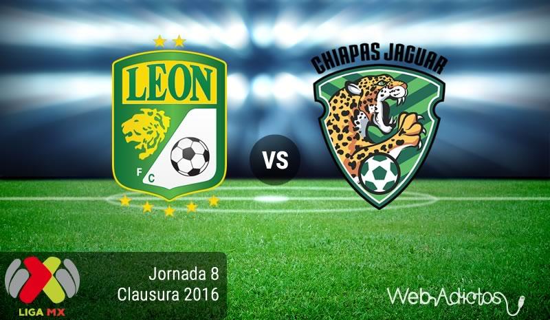 León vs Jaguares en el Torneo Clausura 2016   Jornada 8 - leon-vs-jaguares-de-chiapas-jornada-8-del-clausura-2016