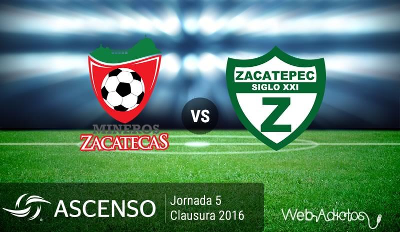 Mineros vs Zacatepec, AscensoMX Clausura 2016   Jornada 5 - mineros-vs-zacatepec-ascenso-mx-clausura-2016