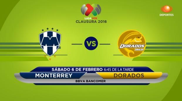Monterrey vs Dorados en el Clausura 2016 | Jornada 5 - monterrey-vs-dorados-en-vivo-por-televisa-deportes-clausura-2016