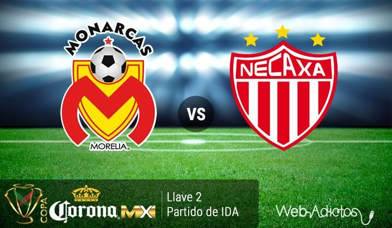 Morelia vs Necaxa, Llave 2 de la Copa MX Clausura 2016 - morelia-vs-necaxa-copa-mx-clausura-2016