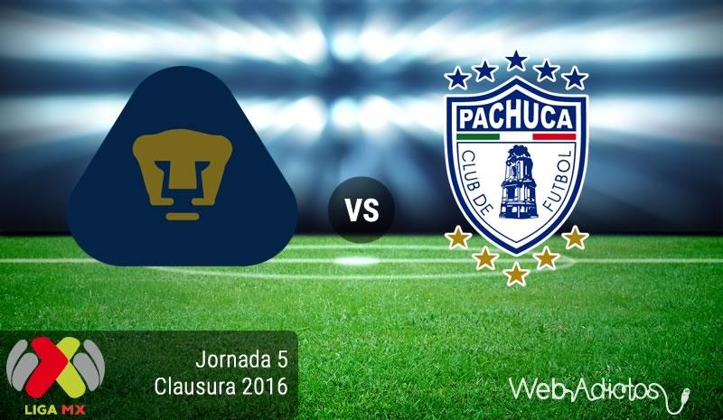 Pumas vs Pachuca, Jornada 5 del Clausura 2016 - pumas-vs-pachuca-clausura-2016