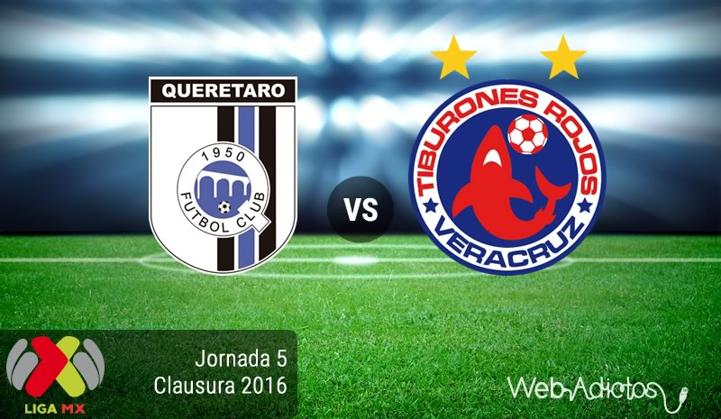Querétaro vs Veracruz, Jornada 5 del Clausura 2016 de la Liga MX - queretaro-vs-veracruz-clausura-2016