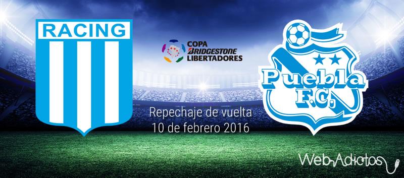 Racing vs Puebla, Copa Libertadores 2016 | Partido de vuelta - racing-vs-puebla-copa-libertadores-2016-vuelta