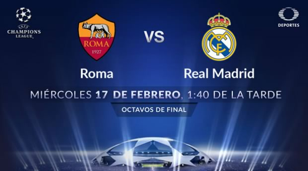 Roma vs Real Madrid, Octavos de Champions League 2016 - roma-vs-real-madrid-champions-league-2016