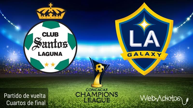 Santos vs Galaxy, Concachampions 2016   Partido de vuelta - santos-vs-galaxy-en-concachampions-2016