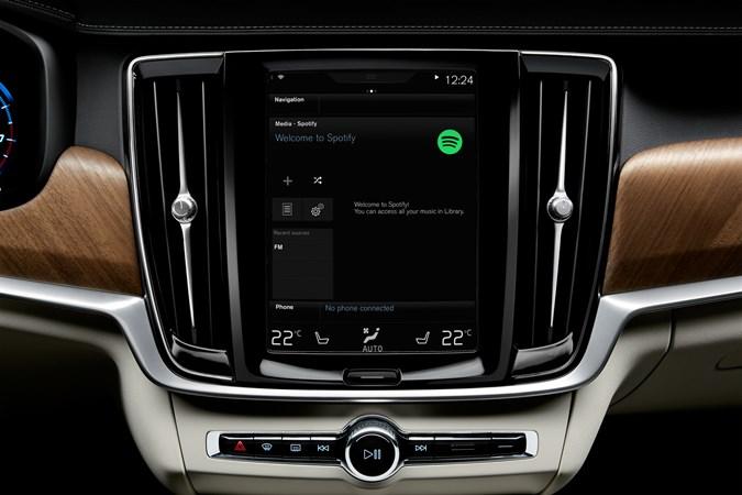 Volvo llevará Spotify a sus autos. - spotify-volvo