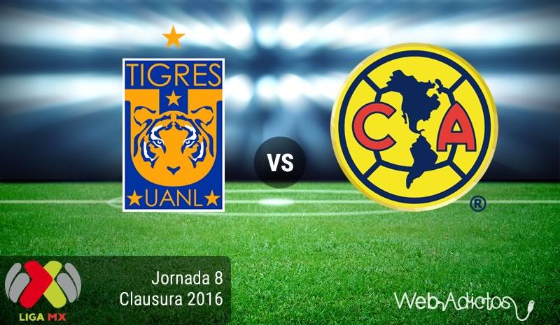 Tigres vs América, Jornada 8 del Clausura 2016   Liga MX - tigres-vs-america-jornada-8-del-clausura-2016