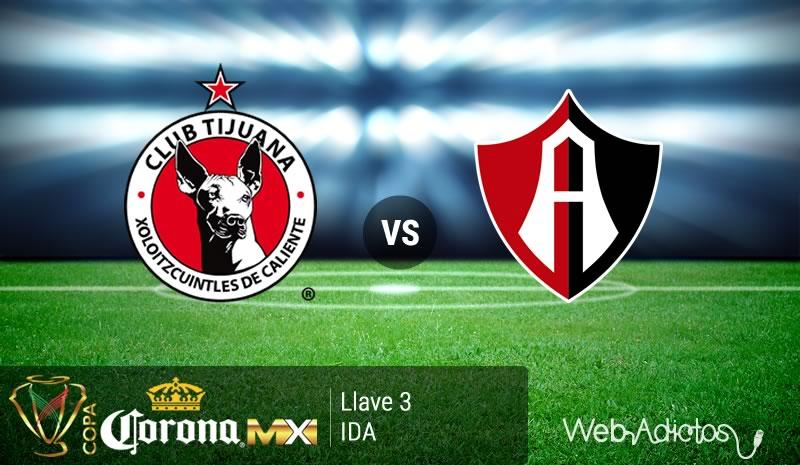 Tijuana vs Atlas, Llave 3 de la Copa MX Clausura 2016 - tijuana-vs-atlas-en-la-copa-mx-clausura-2016