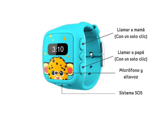 Nuevo Watch-U Kids, el primer reloj celular con localizador para niños - watch-u-kids