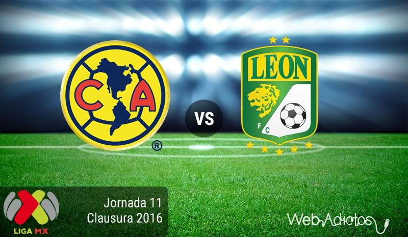 América vs León, Jornada 11 del Clausura 2016 | Resultado: 2-1 - america-vs-leon-en-la-jornada-11-del-clausura-2016